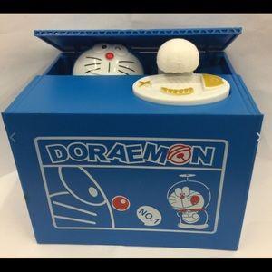 Cartoon Doraemon Piggy Bank Adorable Bank Saving